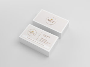 Business card template by Restaurant Spider