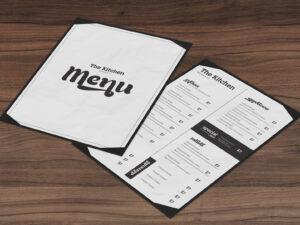 Restaurant Menu Template by Restaurant Spider