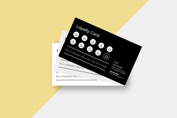 Loyalty card templates